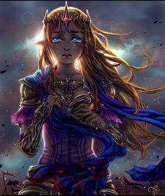 Sad Princess Zelda is sad.