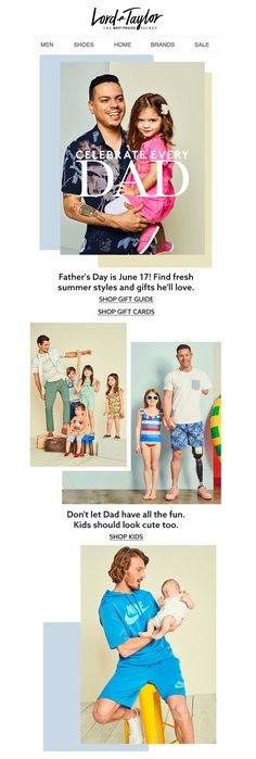 Subject: Dad-approved gifts. Father's Day is June 17!