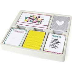 Becky Higgins American Crafts Project Life CONFETTI EDITION Core Kit 380435