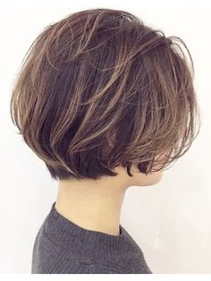 New hair short bob coupes courtes Ideas Shaggy Short Hair, Short Sassy Haircuts, Short Bob Hairstyles, Short Hair Cuts, Love Hair, Great Hair, Chin Length Hair, Shot Hair Styles, Asian Hair