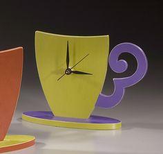 Cup and Saucer Clock