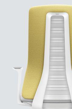 PURE INTERIOR Edition 11 #Gelb. Mehr Design für dein #HomeOffice. Mit einer vielfältigen und hochwertigen Stoffauswahl und ihrem ergonomischen Design vereint die PURE INTERIOR Edition bequemes und ergonomisches Sitzen. Das Design und die Farbgebung des PURE machen ihn zu einem optischen Leichtgewicht. Farblich abgestimmt bringt er sich in das Home Office ein und kann sich gleichzeitig zurücknehmen. #schreibtischstuhl #design #interiordesign #Stoff #ergonomie #interstuhl Home Office, Floor Chair, Designer, Flooring, Interiordesign, Pure Products, Home Decor, Yellow, Decoration Home