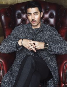 Cha Seung Won - Heren Magazine January Issue '15