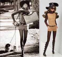 1971 Gucci outfit. Valentino boots \ Wild Thing Poppy Parker | por Nata-leto