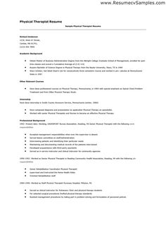 Cover Letter Sample Physical Therapist Assistant Resume Template  Counselling And Psychotherapy