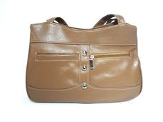 LIGHT BROWN HANDBAG SB308 for more details visit www.streetbazaar.in #fashion #classy #light #brown #handbag