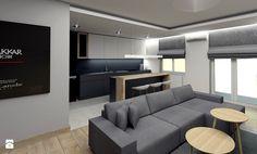 tarnow mieszkanie 60m2 - Kuchnia, styl nowoczesny - zdjęcie od ajaje - architekci & projektanci wnętrz