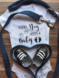 Baby Announcement Discover Every Dog Needs a Baby Onesies Every Cat Needs Onesies Pregnancy Announcement Baby Onesies Bodysuit Clothing Unisex Baby Clothing Pregnancy Announcement To Parents, Cute Baby Announcements, Pregnancy Announcement Photos, Baby Announcement With Dogs, Pregnancy Test, Early Pregnancy, Pregnancy Belly, Pregnancy Journal, Pregnancy Advice