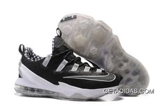 280928ce32826 Nike Lebron James 13 Black White TopDeals