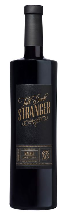 Tall, Dark, Stranger on Packaging of the World - Creative Package Design Gallery