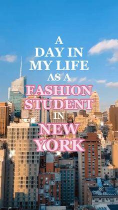 Fashion Jobs, Student Fashion, School Fashion, New York Fashion, Ny Life, New York Life, Dream Life, Fashion Design Portfolio, Fashion Design Sketches