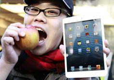 Segundo o conceituado site chinês de tecnologia Digitimes, de 19,5 milhões de iPads vendidos no 1º trimestre, 12,5 milhões foram do Mini. Lançado para combater concorrentes fortes como o Amazon Kindle Fire e o Samsung Galaxy Tab, o iPad Mini tem uma tela de 7,9 polegadas sem a tecnologia Retina de altíssima resolução (G1 Tecnologia)