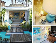 Backyard kids playhouse                                         omg!!!!!