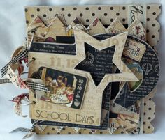 Kaisercraft Chipboard Albums | love the different shapes of the album and how they stack onto each ...