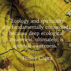 Ecology = Spirituality