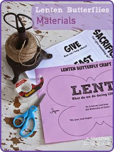 Ways to Explain Lent to Kids Catholic Religious Education, Catholic Kids, Easter Crafts For Kids, Preschool Crafts, Lent Kids, Religious Bulletin Boards, 40 Days Of Lent, Ash Wednesday, Butterfly Crafts