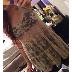 Sheer rose print Top/ Dress 💖🌹👗 Shiny, sheer, and perfect for a casual night out! No known brand and no size on tag but fits like a medium/small. New without tags! Perfect with black high waisted skinny jeans and sexy platforms for a classy, eye catching going out gettup! You'll be sure to turn heads ✨💃👀👏 Tops