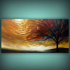 art painting abstract landscape tree painting abstract by mattsart