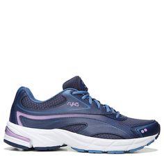 Ryka Women's Infinite Medium/Wide Walking Shoes (Blue/Lilac)
