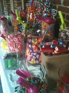 The Brownstone Cafe & Catering, Fullerton California, Candy Bar, Wedding