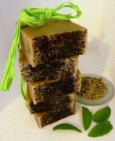 Estela de Jabón: Jabón de Té Verde y Aloe Vera