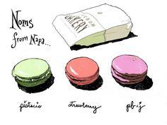 Macarons illustrious-illustrations