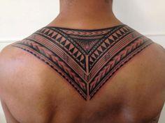 Upper Back Tattoo Inspiration for Guys