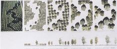 New Urban Landscape Architecture Maps Ideas Landscape Model, Landscape And Urbanism, Modern Landscape Design, Vintage Landscape, Landscape Concept, Landscape Drawings, Garden Landscape Design, Cool Landscapes, Urban Landscape