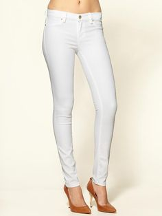 white jeans - classic