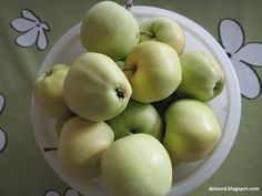 Vakker dag: Hjemmelaget eplemos. Honeydew, Apple, Fruit, Food, Apple Fruit, Honeydew Melon, The Fruit, Meals, Apples