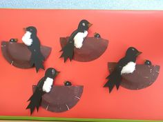 Activities For Kids, Crafts For Kids, Bird Template, Paper Crafts, Education, Spring, Projects, Autumn, Early Education