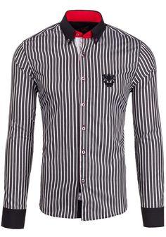 Pánská košile BOLF 5738 černá ČERNÁ   Pánská móda \ Pánské košile \ Košile dlouhý rukáv Pánská móda \ Pánské košile \ společenské Pánská móda \ Pánské košile \ kancelářské Pánská móda \ Pánské košile \ proužkované Premium Przecena 15%   Bolf - Internetový Obchod s Oblečením   Oděv   Oblečení   Kabáty   Bundy