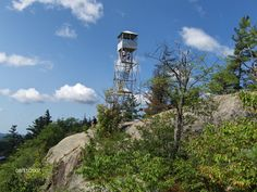 In Old Forge, NY it's worth a visit to the 2350 foot summit of Bald Mountain.