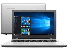 """Notebook Lenovo Ideapad 300 Intel Core i7 - 6ª Geração 8GB 1TB LED 15,6"""" Placa de Vídeo 2GB"""