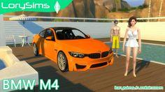 BMW M4 at LorySims • Sims 4 Updates