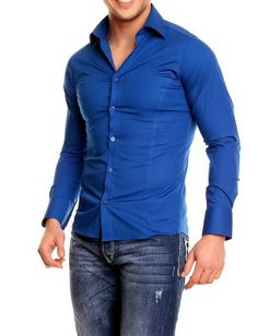 Camisa Redbridge slim fit | Azul