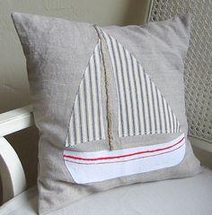 Regatta pillow cover. $35.00, via Etsy.