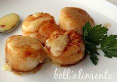 Sea Scallops in Saffron Sauce..