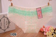 6Pcs/Lot Sexy Panties Cat Briefs Bow Bragas Women Underwear Cotton Lace Lady Underpants Dots Lingerie Ropa Interior Mujer