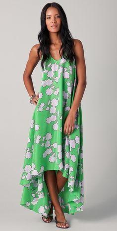 Diane Von Furstenberg Carsandra Beach Cover Up Dress thestylecure.com
