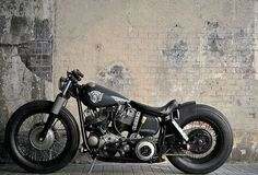 Bobber Inspiration | Harley bobber | Bobbers and Custom Motorcycles