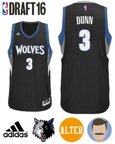 Keep your equipment fresh with this Men's 2016 Draft Timberwolves #3 Kris Dunn Alternate Black Jersey to develop a entire new appearance for Kris Dunn's anticipated NBA new journey. This jersey should mean a milestone in his whole career up to a point. Shop this special gear to display your pride an