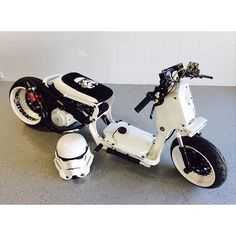 Scooter Parts & Accessories - Scooter Performance & Stock Parts Custom Mini Bike, Scooter Custom, Custom Bikes, Honda Scooters, Motor Scooters, Custom Honda Ruckus, Honda Sports Car, Best Electric Scooter, Vw Mk1