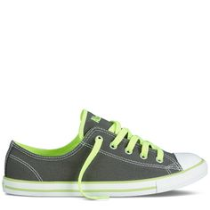 Converse - Chuck Taylor Dainty - Low - Charcoal  always opt for a cute sneaker. throw ouw the all white la gear sneaks from 1988!