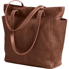 Women's Lifetime Leather Travel Tote Bag - Duluth Trading  $168 This is it!!!! Love it! Hint Hint!! B-day soon!