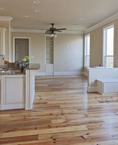 Beautiful light hardwood floors | pretty little house | Pinterest ...