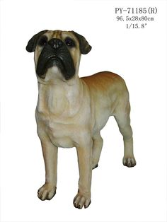 Outdoor Indoor Garden Patio Bull Mastiff Dog Statue Sculpture 31'H -- Check out this great product.