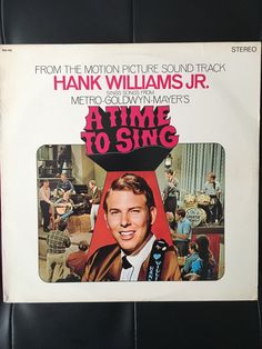 A personal favourite from my Etsy shop https://www.etsy.com/uk/listing/513661567/hank-williams-jr-soundtrack-to-a-time-to