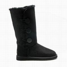 ♥♥♥… Ugg Bailey Button Triplet 1873 Black ,☞…… Marked For My Shopping Bags. Ugg Boots Sale, Ugg Boots Cheap, Sheepskin Ugg Boots, Uggs For Cheap, Classic Ugg Boots, Ugg Bailey Button, Black Uggs, Black Boots, Ugg Boots Australia