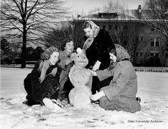 Winter Fun, 1940s